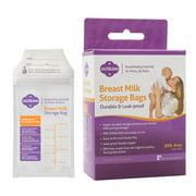 Milkies No-Break, No-Leak Breast Milk Storage Bags, 50-count, BPA-Free