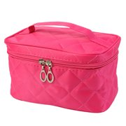Square Case grain Of Pure Color Cosmetic Bag YE