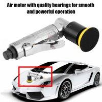 Ejoyous 2 Inch Orbital Air Sander 15000RPM Pneumatic Polisher Hand Sanding Tool Mini Disc Aluminium , Pneumatic Polisher, Car Air Orbital Sander