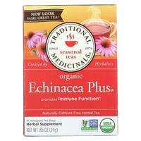 Tea Echinacea Plus Org, Traditional Medicinals Echinacea Pls Tea By Traditional Medicinals