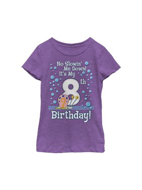 SpongeBob SquarePants Girls' Gary 8th Birthday T-Shirt