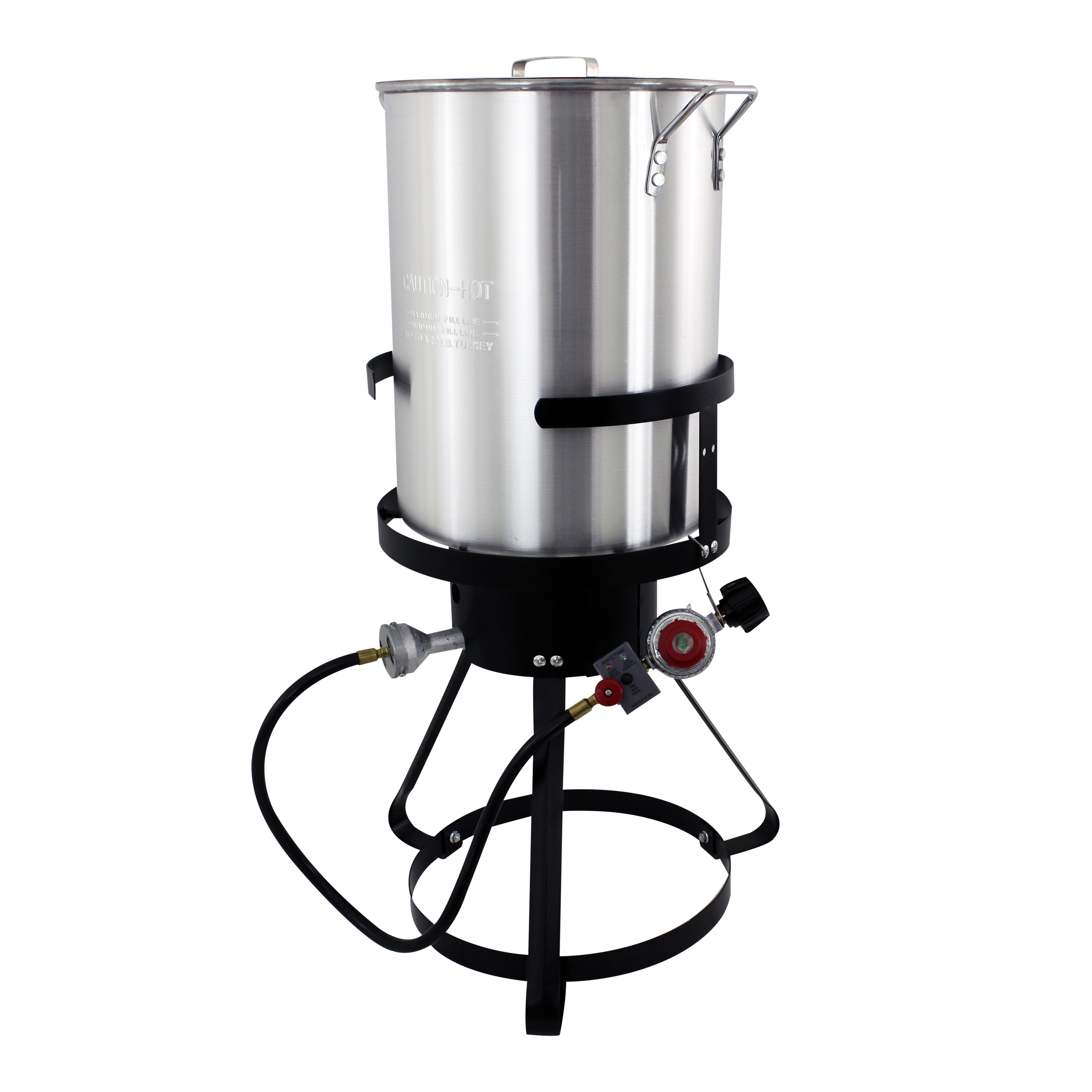 Nesco 30 Qt Aluminum Turkey Fryer w/ Spigot