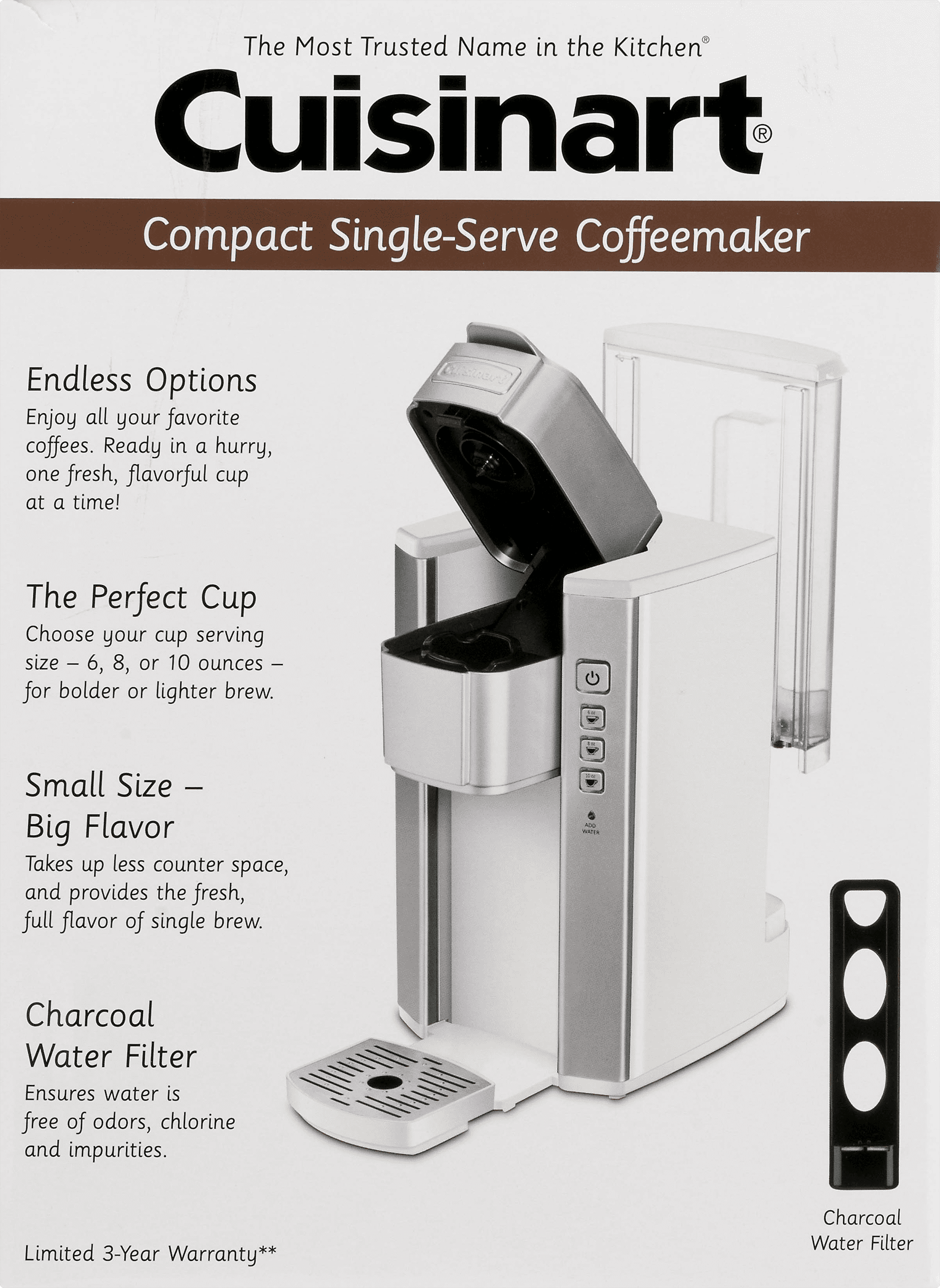 Cuisinart Coffee Makers Single Serve Brewer Ss 5w Silver And