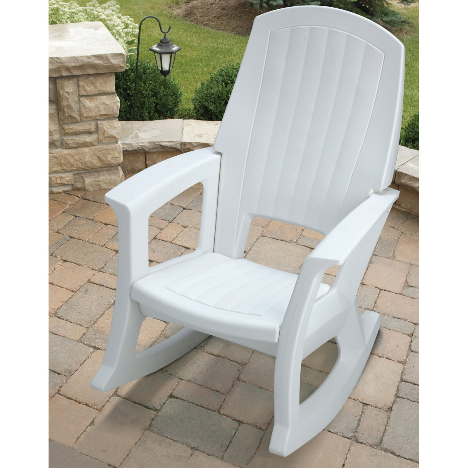 semco recycled plastic rocking chair walmartcom - Patio Rocking Chairs