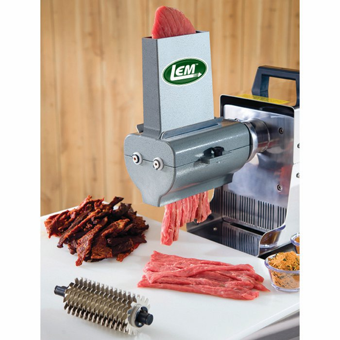 LEM 433TJ 2-in-1 Jerky Slicer and Tenderizer Attachment