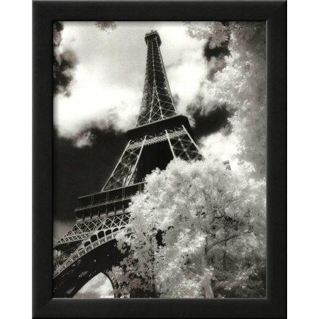 Eiffel Tower (Parc du Champ de Mars) Framed Art Print Wall Art  - (World Series Champs Framed)