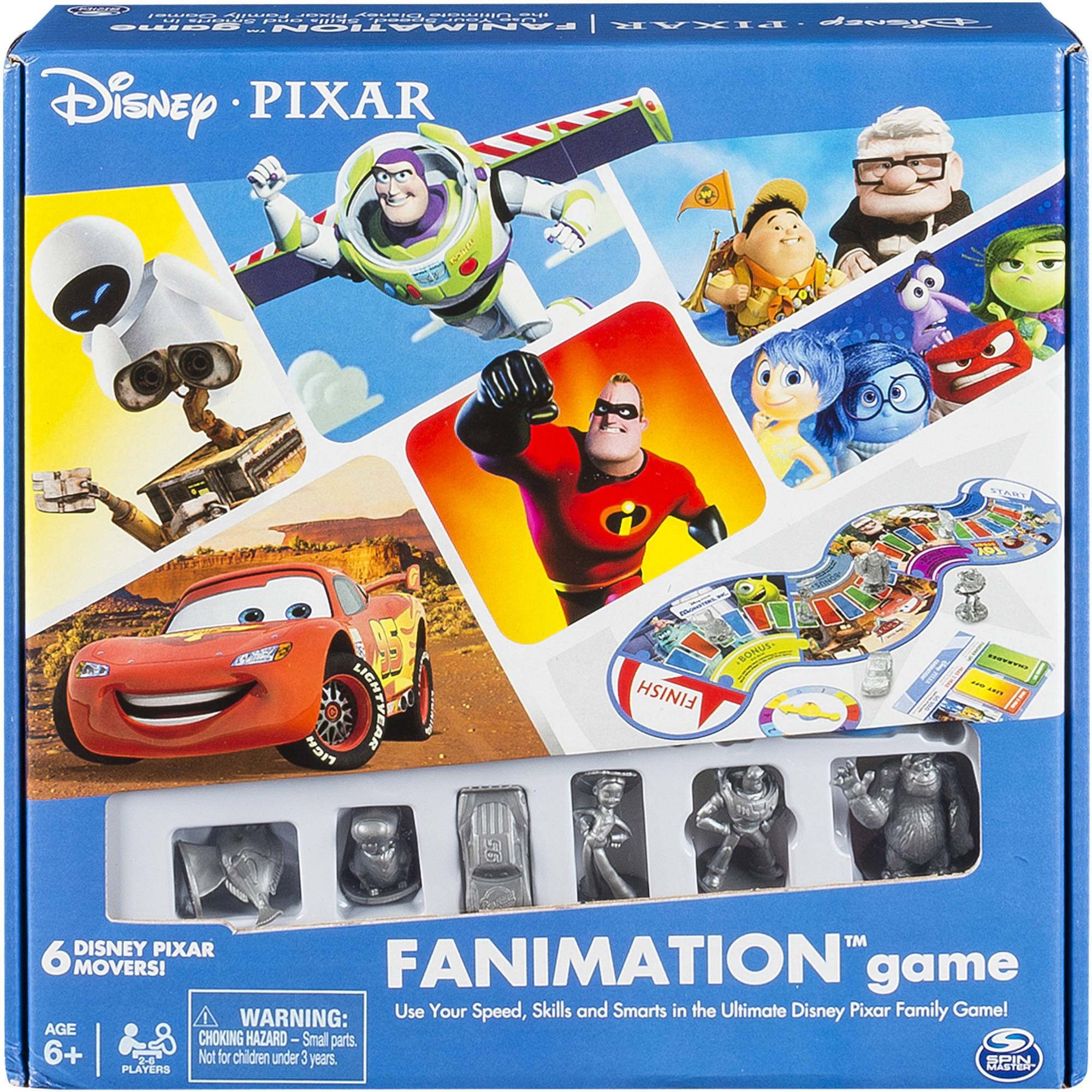 Disney Pixar Fanimation Game