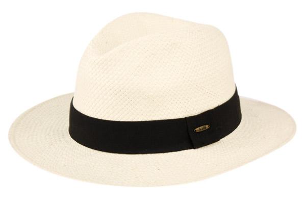 Mens Panama Wide Brim Fedora Straw Hat Indiana Jones Style Summer Cool...