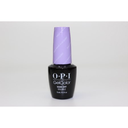 OPI Nail Lacquer - Fiji Collection-  Gelcolor- Polly Want a Lacquer?