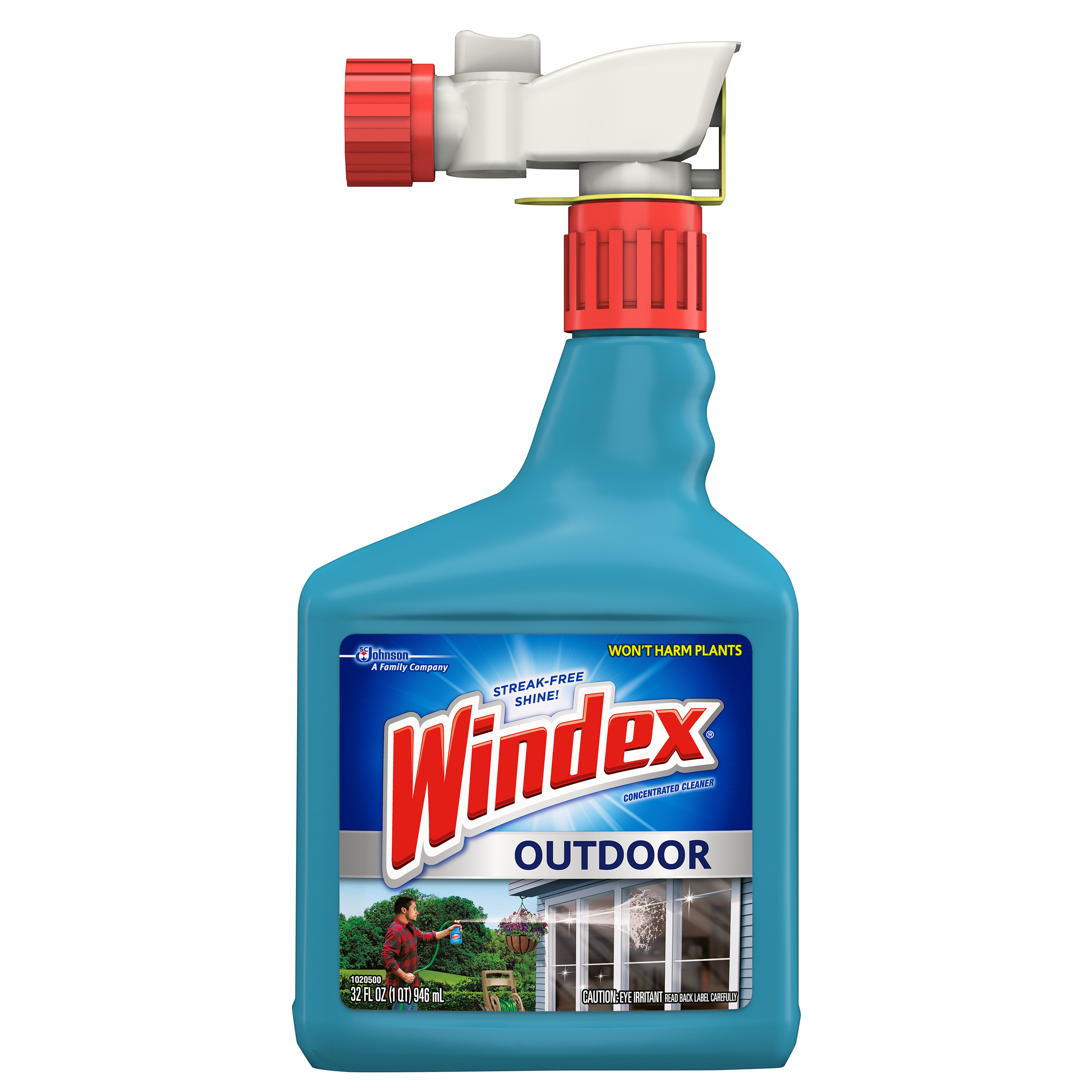 Windex Outdoor Glass & Patio Concentrated Cleaner 32 Fluid Ounces