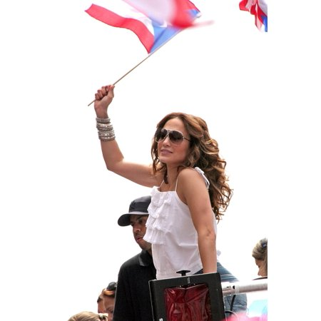 Jennifer Lopez In Attendance For 50Th Anniversary National Puerto Rican Day Parade Manhattan New York Ny June 10 2007 Photo By Steve MackEverett Collection Celebrity - Photos Parade Halloween New York