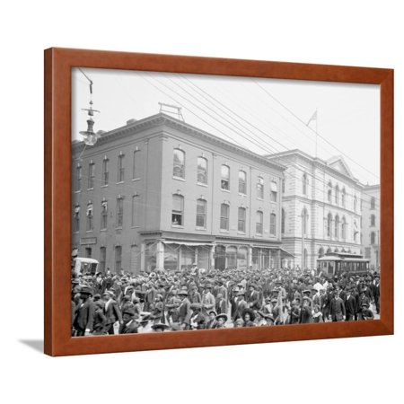Emancipation Day, Richmond, VA Framed Print Wall Art ()