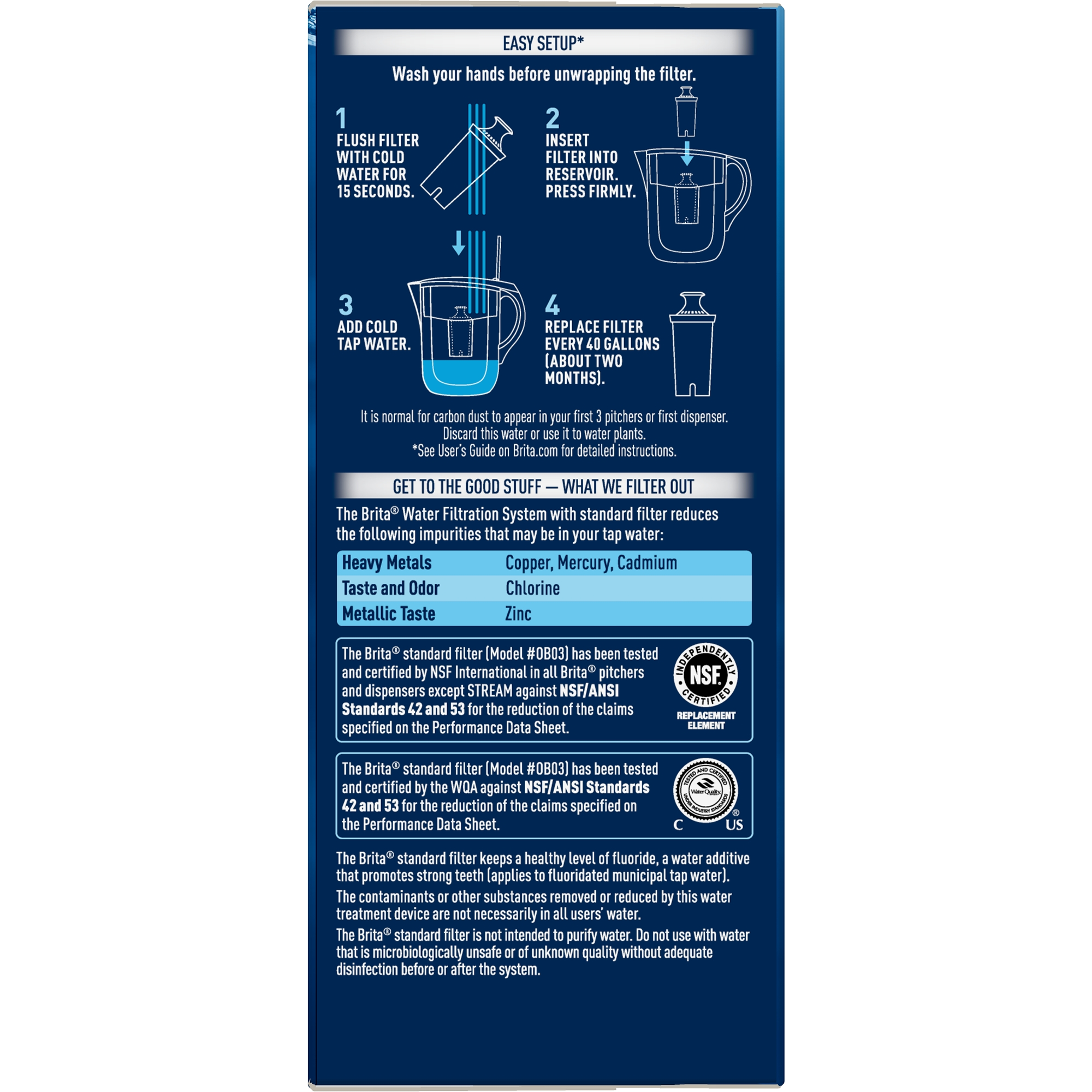 brita water filter replacement. Contemporary Water Brita Standard Replacement Filters For Pitchers And Dispensers  BPA Free  4 Count Walmartcom Intended Water Filter
