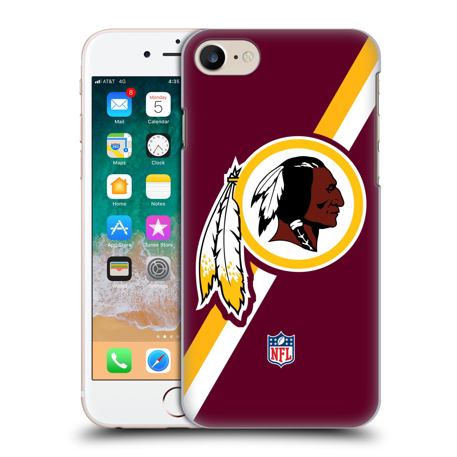 OFFICIAL NFL WASHINGTON REDSKINS LOGO HARD BACK CASE FOR APPLE IPHONE PHONES