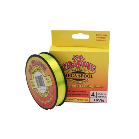 Lews Fishing Mr. Crappie 500 Yard Filler Spool