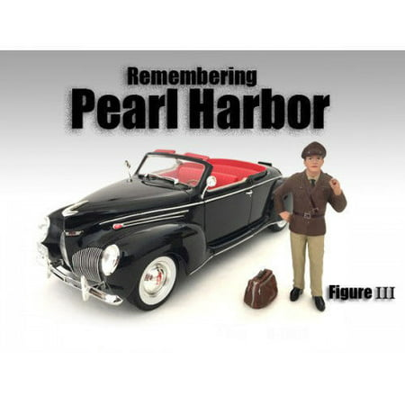 AMERICAN DIORAMA 1:18 REMEMBERING PEARL HARBOR - FIGURE III (FIGURE ONLY VEHICLE NOT INCLUDED) AD-77424