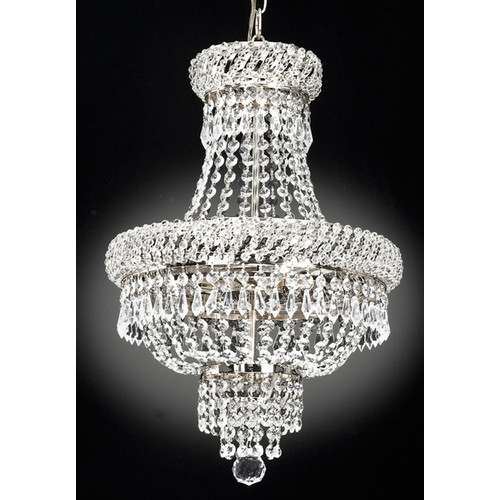 Everything Home French 3-Light Empire Chandelier by Everything Home