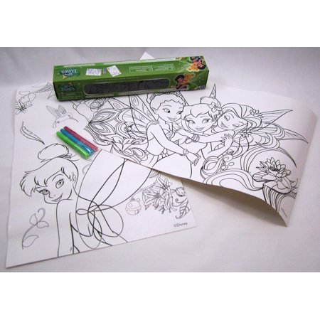 Disney Fairies Boxed Coloring Sheets with Markers