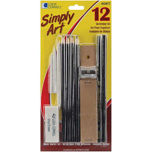 Simply Art Sketching Set, 12-Pack