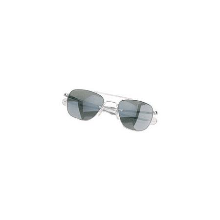 Humvee Sunglasses Military Pilot Sunglasses Matte Finish Silver (Military Pilot Sunglasses)