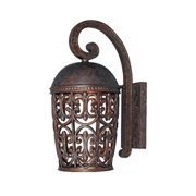 Designers Fountain 97592-BU Amherst Outdoor Wall Light In Burnt Umber