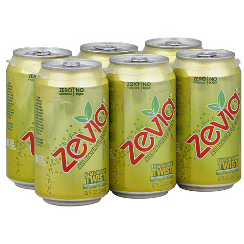 Zevia Lemon Lime Soda, 72FO (Pack of 4)
