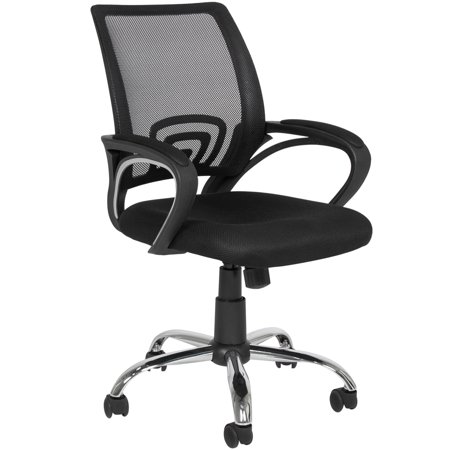 Best Choice Products Ergonomic Computer Home Office Chair W Mesh Design Black Chrome Legs