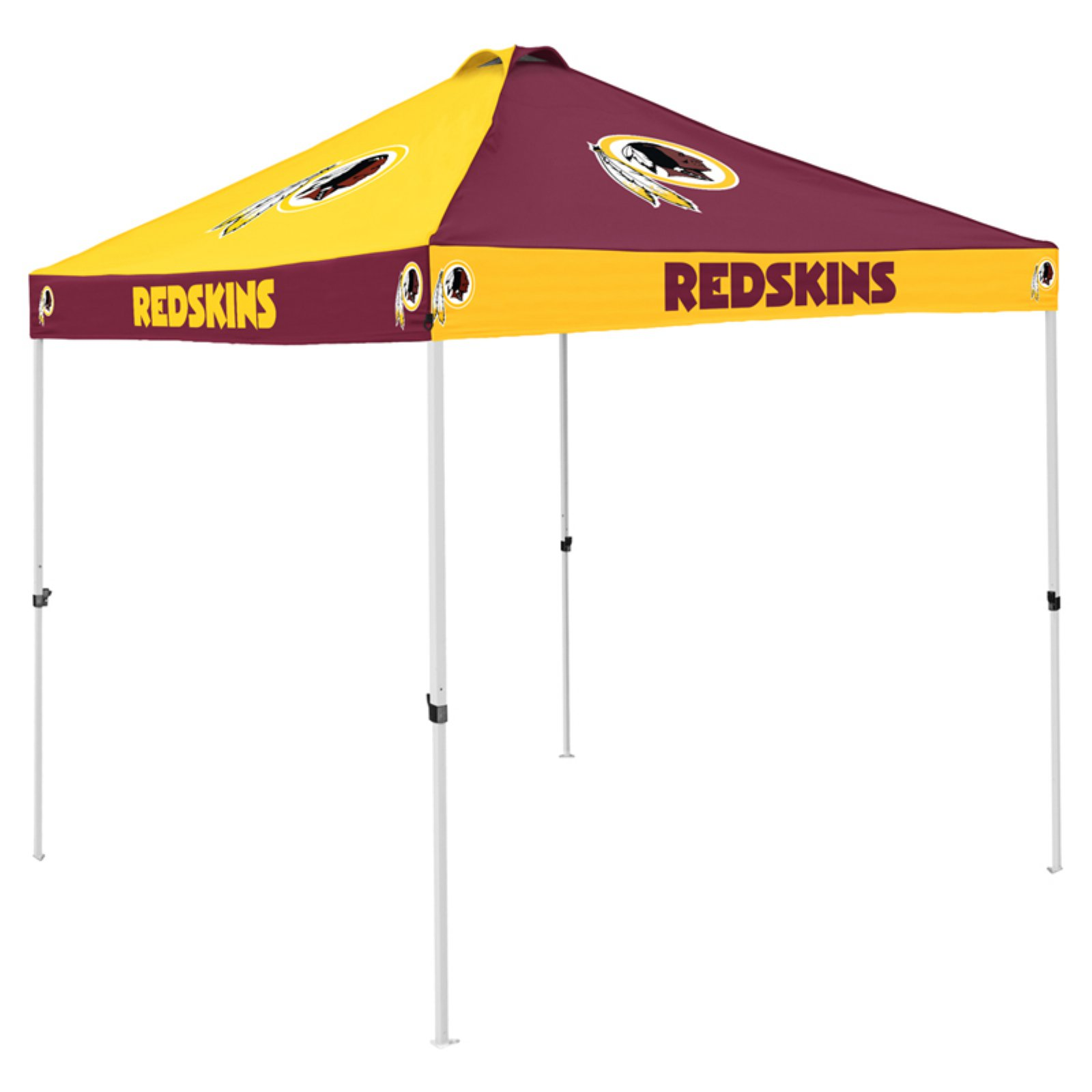 Logo Brands NFL Team Checkerboard Tent