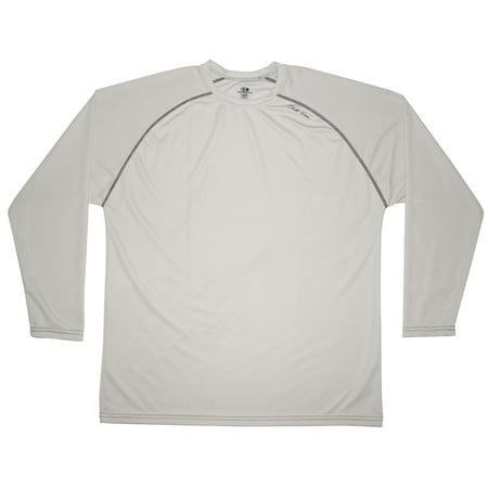 Cliff Keen MXS Loose Gear Long Sleeve Technical Shirt - Small - Gray (Keen 9 Mens)