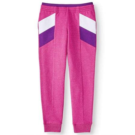 Athletic Works Colorblock Fleece Active Jogger (Little Girls, Big Girls & Plus) by Athletic Works
