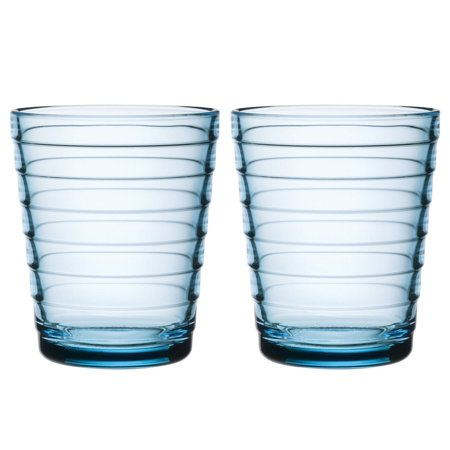 Iittala Aino Aalto 22cl Light Blue Medium Tumbler, Designer: Aino Aalto By Iitala