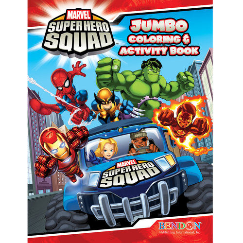Marvel Super Hero Squad Coloring and Activity Book