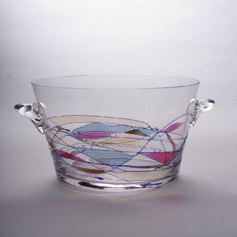 """5"""" Milano Crystal 5 1 2 cup Ice Bucket by"""