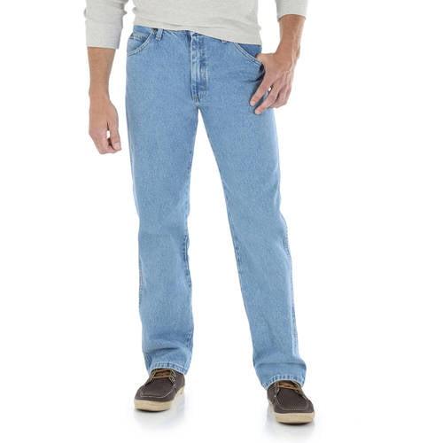 Wrangler Men's Regular Fit Jeans - Walmart.com