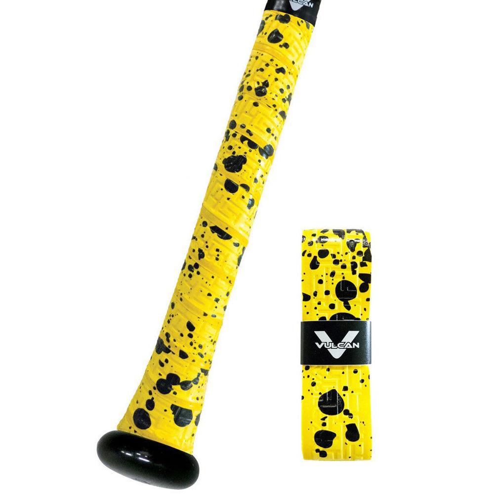Vulcan 0.50mm Bat Grip / Yellow Splatter