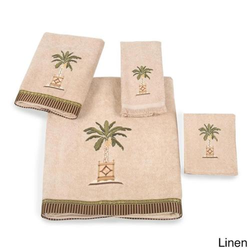 Avanti  Banana Palm Embellished 4-piece Towel Set