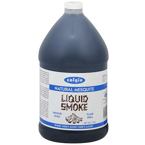Colgin Natural Mesquite Liquid Smoke, 1 gal (Pack of 4)