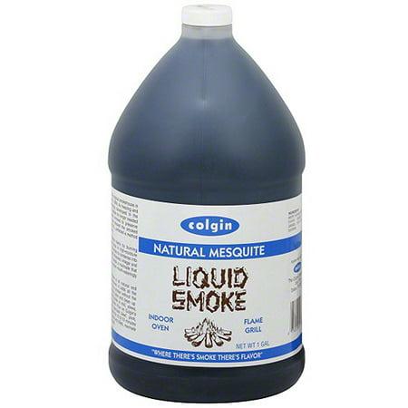 Colgin Natural Mesquite Liquid Smoke, 1 gal (Pack of 4)
