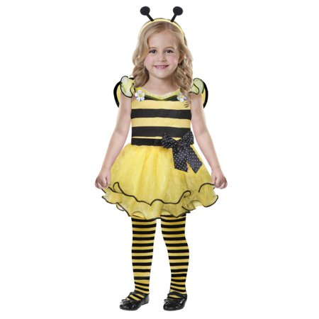 Toddler girls cute as can bee costume with dress wings & headband 25 Months (Bee Wings Costume)