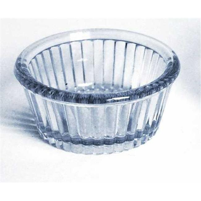 Gessner Products IW-0360A-CL 1 oz. Fluted Ramekin- Case of 12 by Gessner Products Co., Inc.
