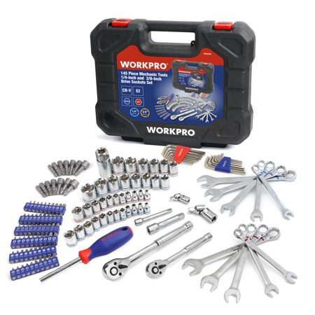 Workpro 145 Piece Mechanic's Tool Set Now $39.99 (Was $67.49)