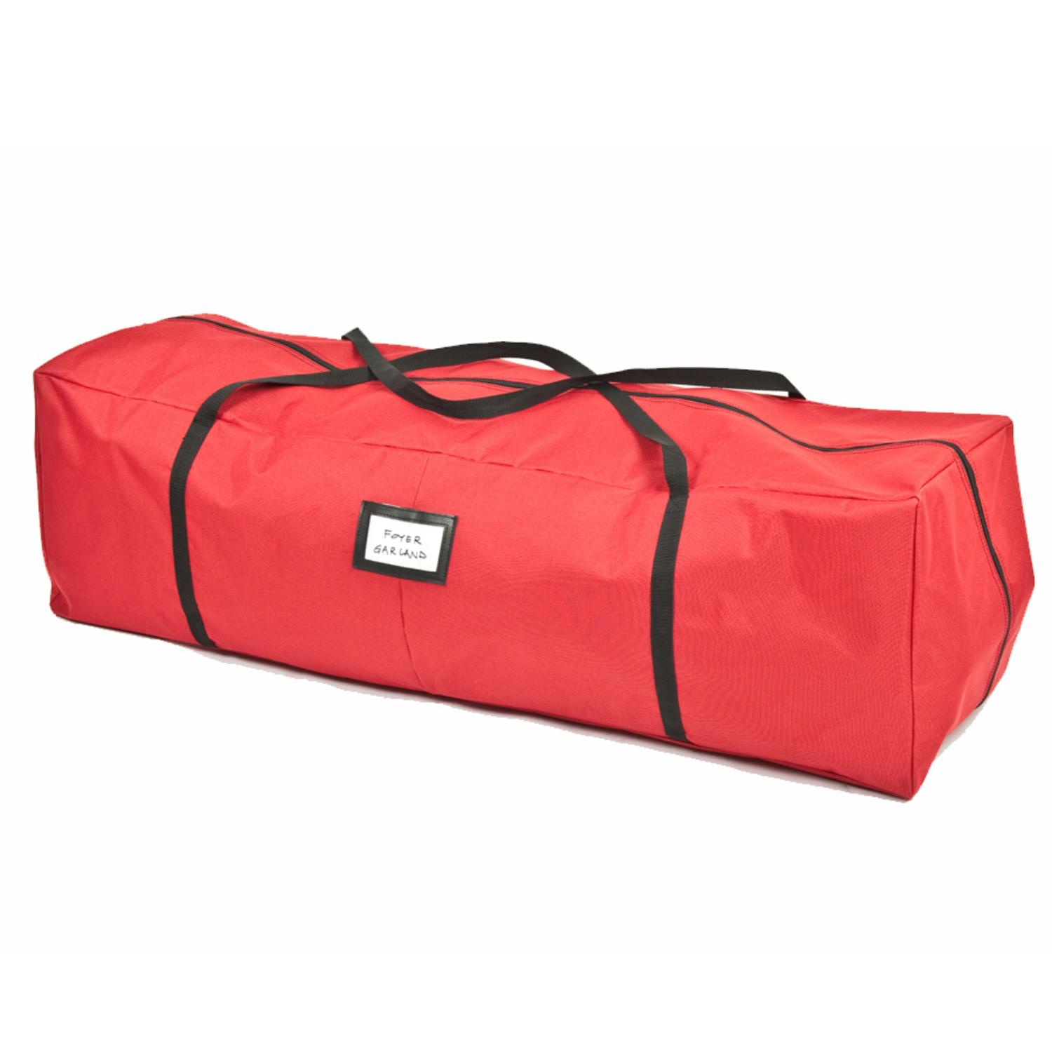 "48"" Red Multi Use christmas Storage Bag - For Garlands, Trees, Lights, Inflatables and More"