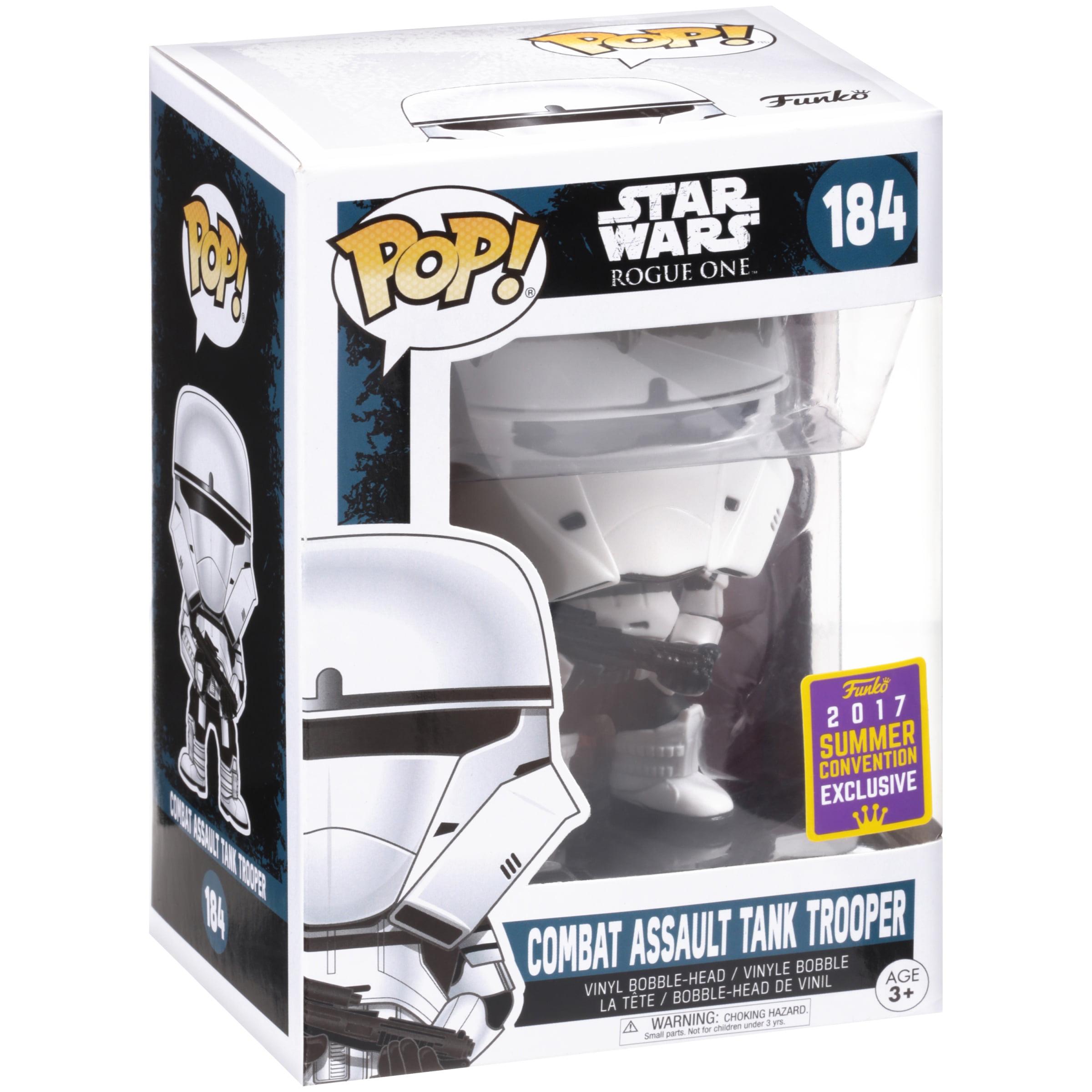 4706b034073564 POP Star Wars  Rogue One - Combat Assault Tank Trooper Summer Convention  Exclusive - Walmart.com