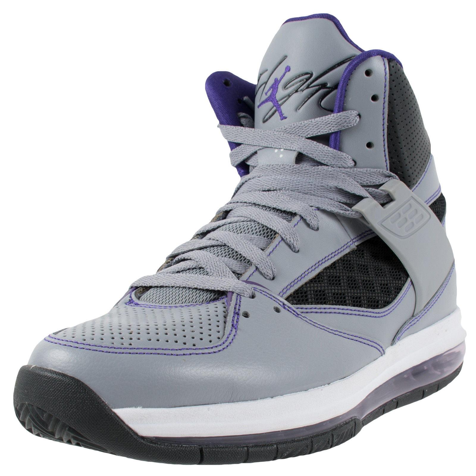 Nike AIR JORDAN FLIGHT 45 HIGH MAX STEALTH COURT PURPLE B...