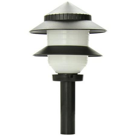 Moonrays 97171 Outdoor Garden Path Plastic Tiered Lamp Accessory ()