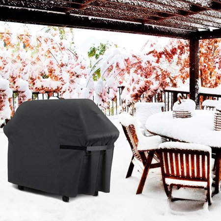 Fashionhome BBQ Grill Cover Oxford Cloth Barbecue Cover Outdoor Garden Furniture Dust Cover Weather Resistant - image 8 of 8