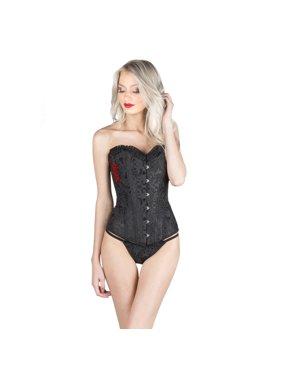 451be0f8ff8 Product Image Women s Adult Lingerie Night Wear Jacquard Waist Training  Corset