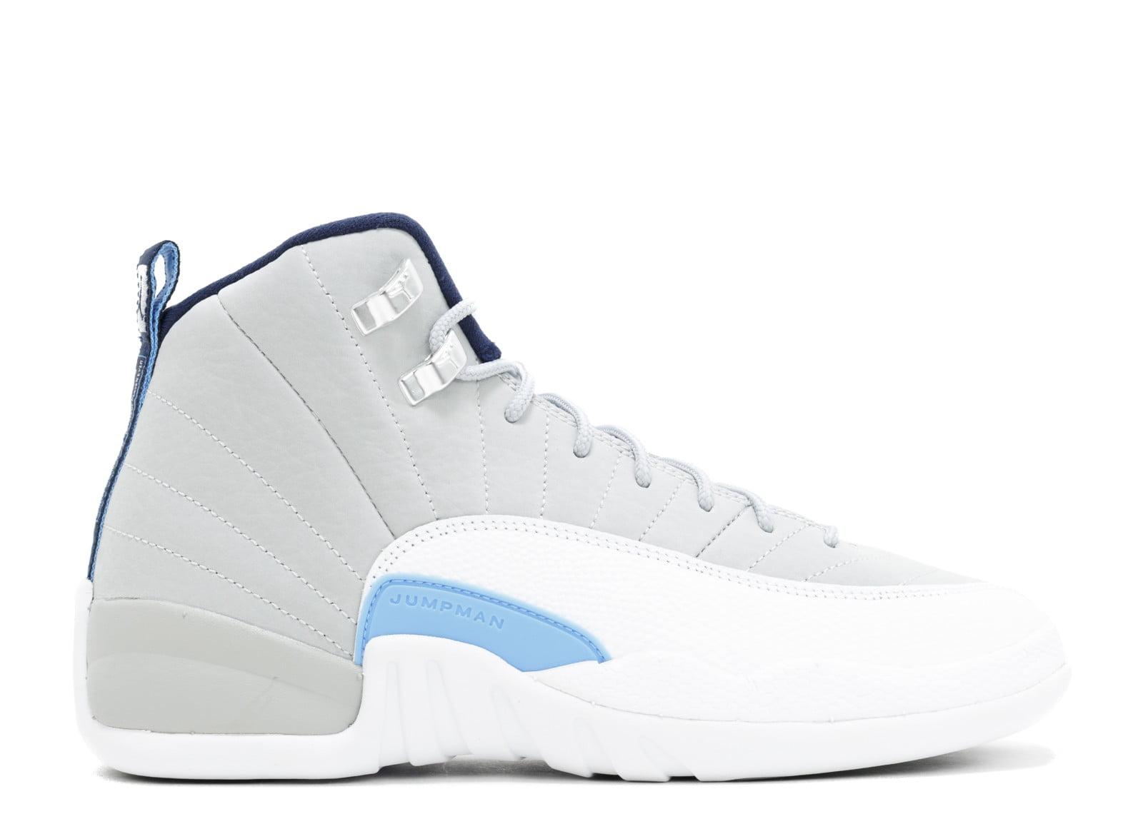 Air Jordan Retro 12 XII UNC Grey White