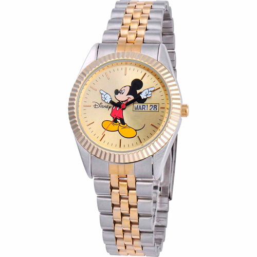 Disney Watches Mens ''Mickey Mouse'' Bracelet Watch