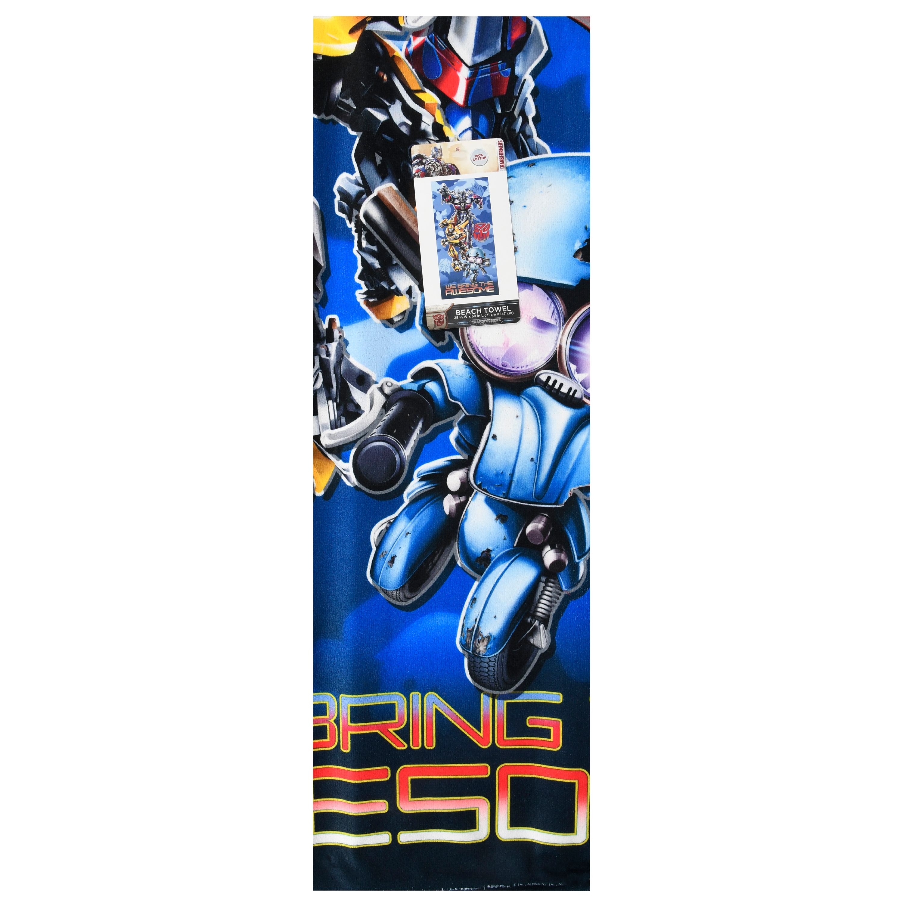 Transformers Epic Transformation Kids Beach Towel